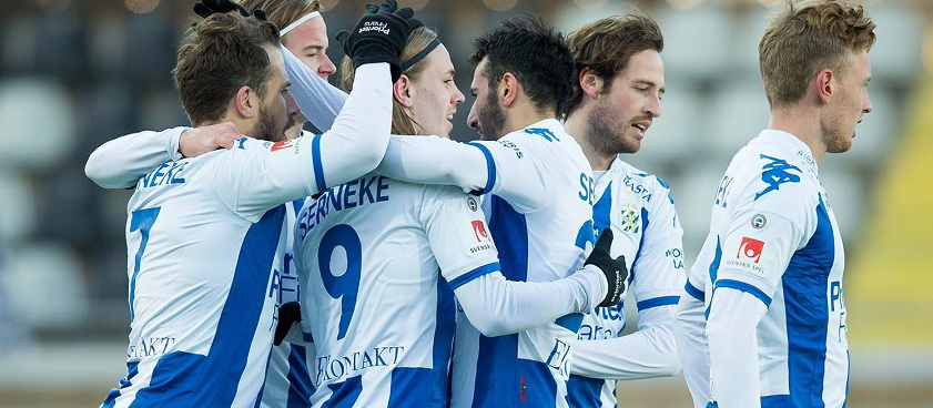 Goteborg - Brommapojkarna. Pontul lui IulianGGMU