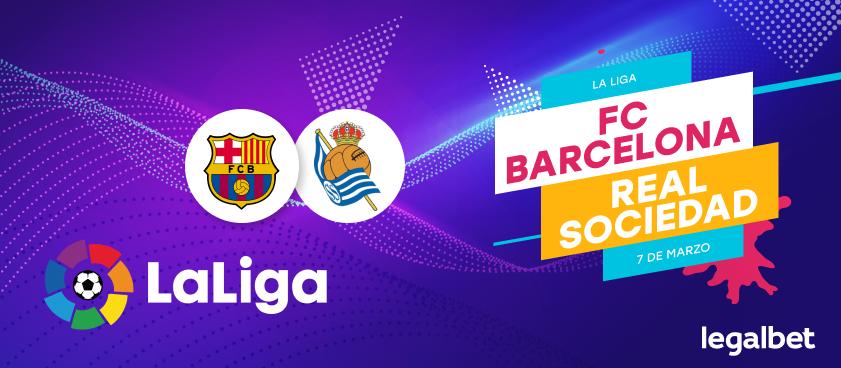 Previa, análisis y apuestas FC Barcelona – Real Sociedad, La Liga 2020
