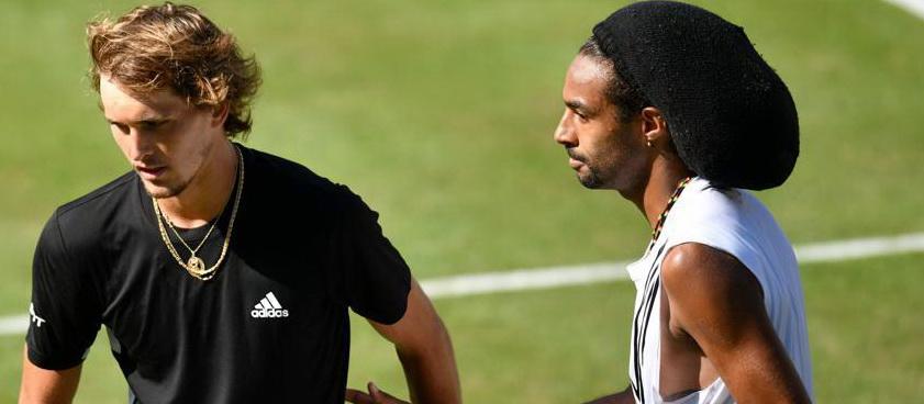 Dustin Brown vs Auger- Aliassime, un nou meci magic in tenis