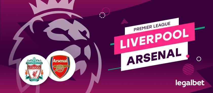 Apuestas y cuotas Liverpool - Arsenal, Premier League 2020/21