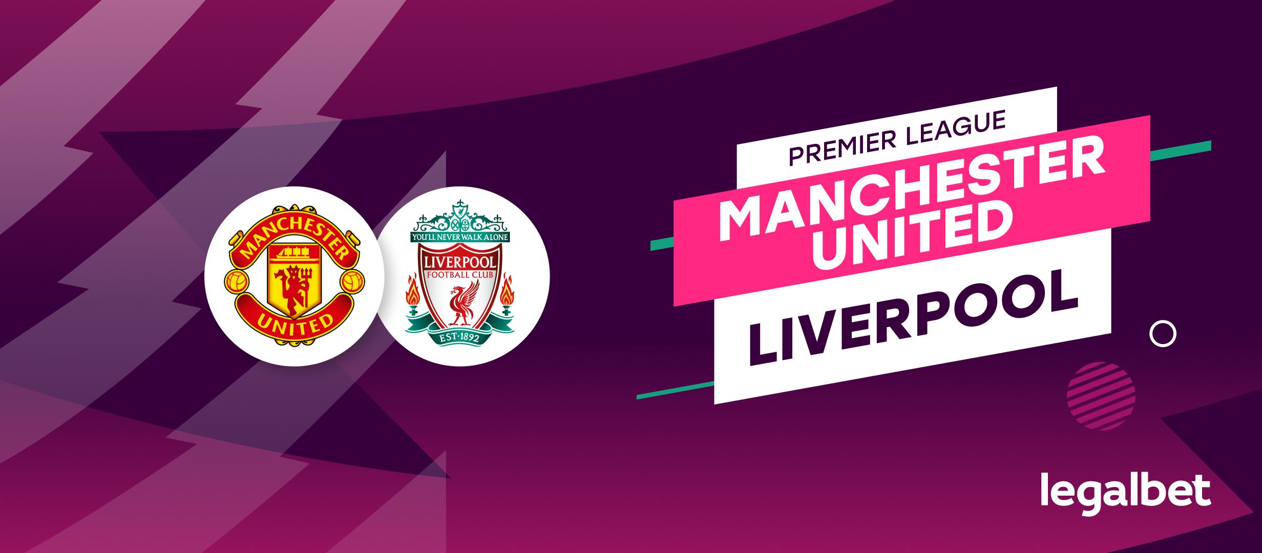 Apuestas y cuotas Manchester United - Liverpool