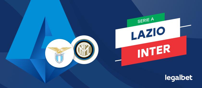 Apuestas y cuotas Lazio - Inter Milán, Serie A 2020/21