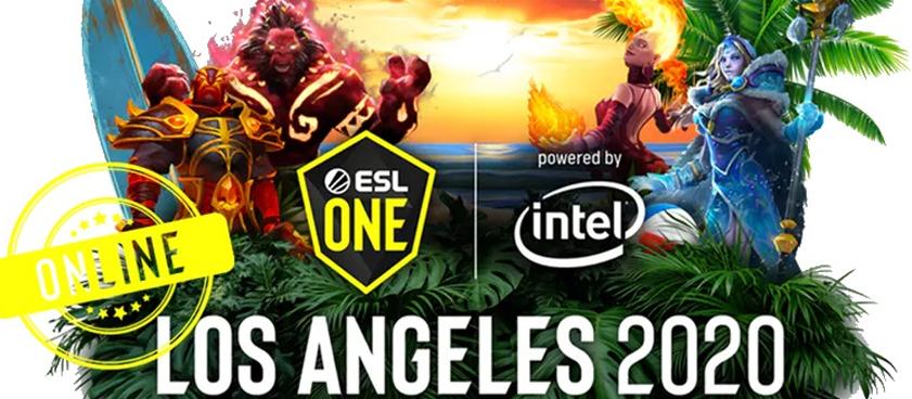 Ставки на ESL One Los Angeles 2020 - Online. Матчи за 29 марта