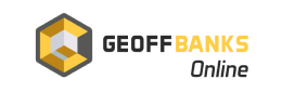 The logo of the bookmaker Geoff Banks - legalbet.uk