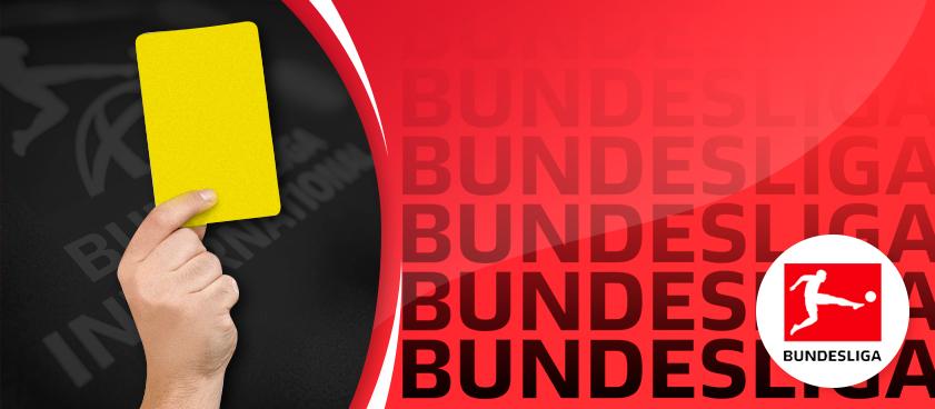 Желтая лихорадка: топовые тренды на желтые карточки в Бундеслиге