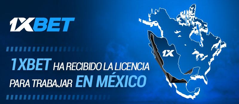 1xBet recibe su licencia para operar en México