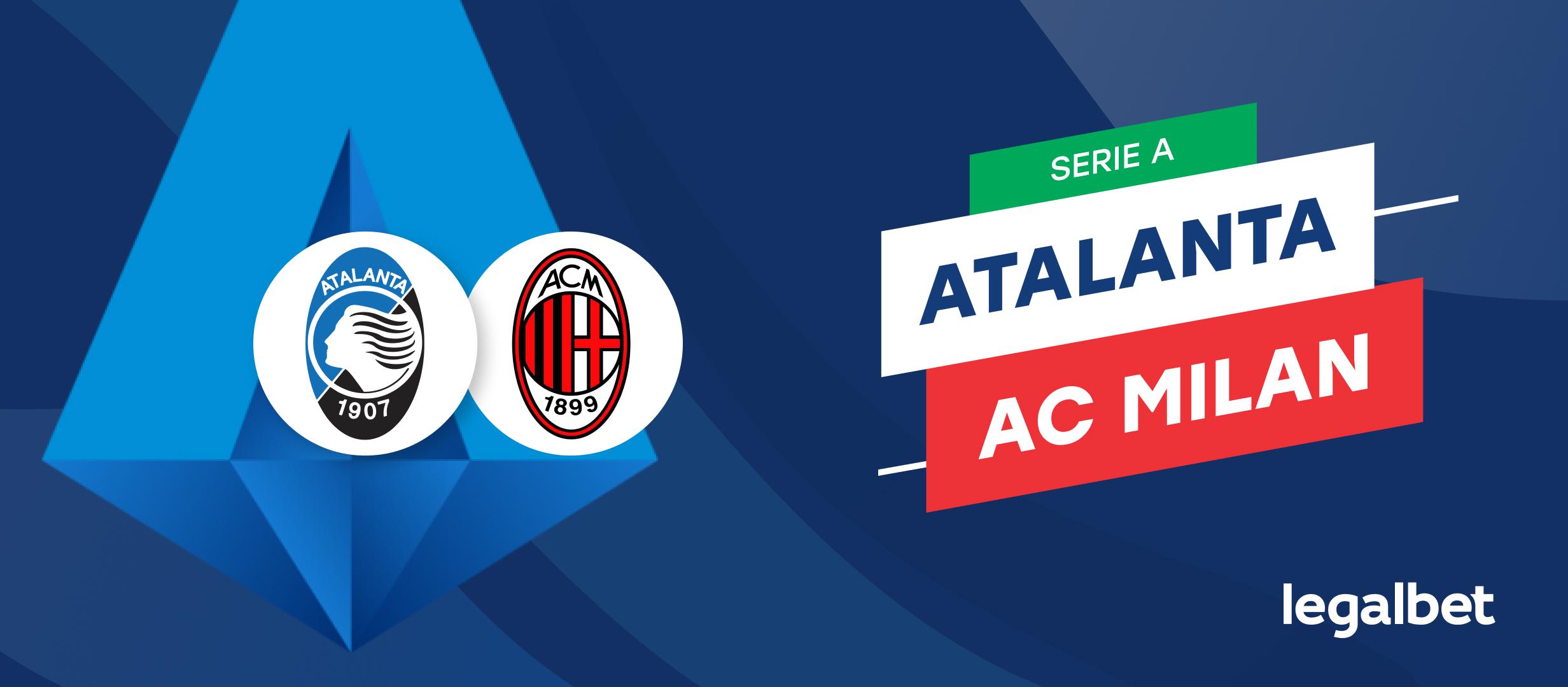 Apuestas y cuotas Atalanta - AC Milan, Serie A 2021/22
