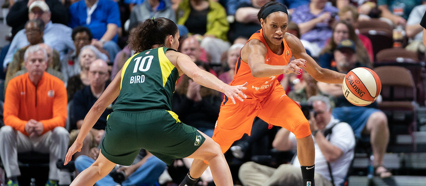 «Коннектикут Сан» - «Сиэттл Шторм»: прогноз на регулярный сезон WNBA