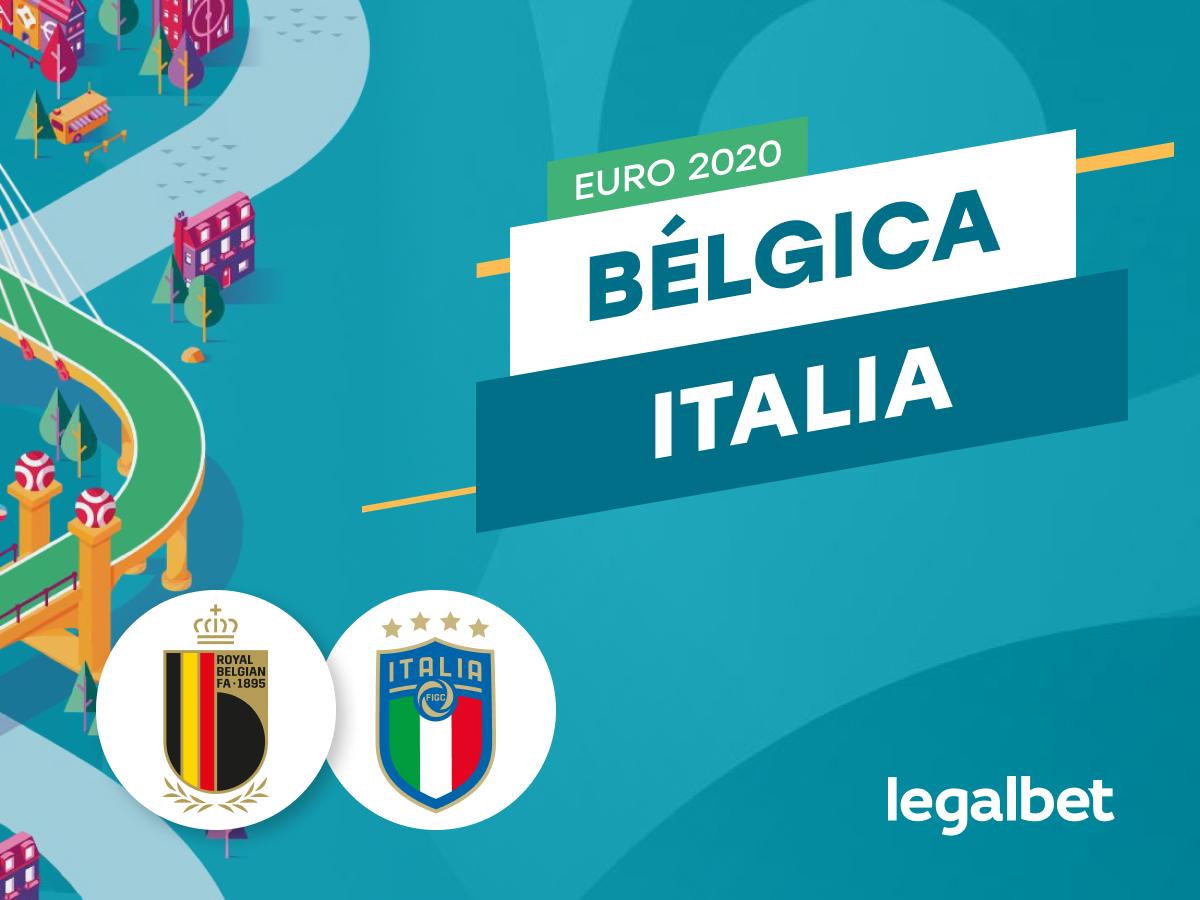 Mario Gago: Apuestas y cuotas Bélgica - Italia, EURO 2020.