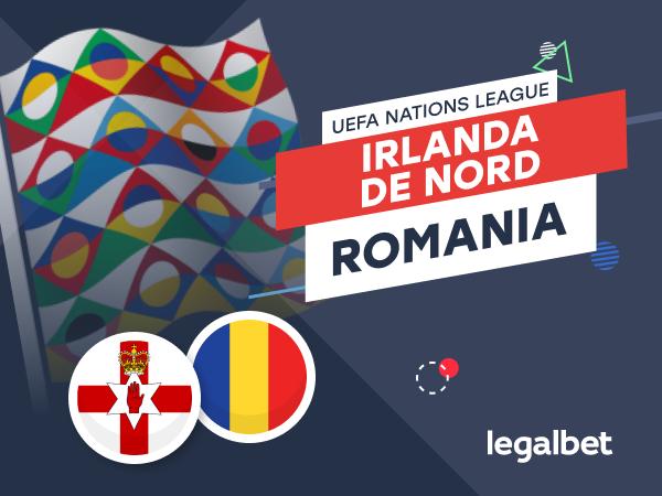 Karbacher: Irlanda de Nord - România: cote la pariuri şi statistici.