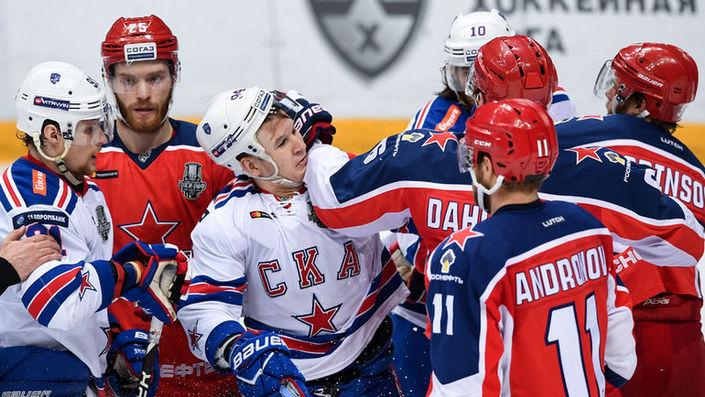 СКА-ЦСКА в КХЛ: битва за лидерство в таблице Западной Конференции