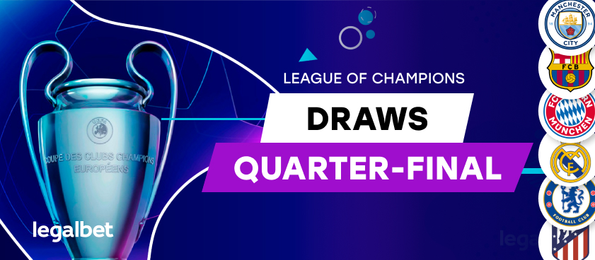"UEFA Champions League ""Quarter Final"" draws (2019/20)"