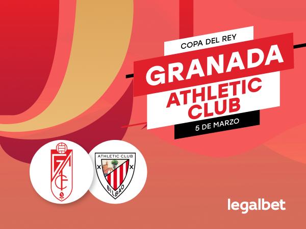 Antxon Pascual: Previa, análisis y apuestas Granada - Athletic Club, Copa del Rey 2020.