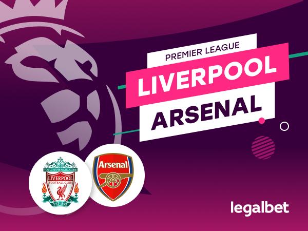 Antxon Pascual: Apuestas y cuotas Liverpool - Arsenal, Premier League 2020/21.