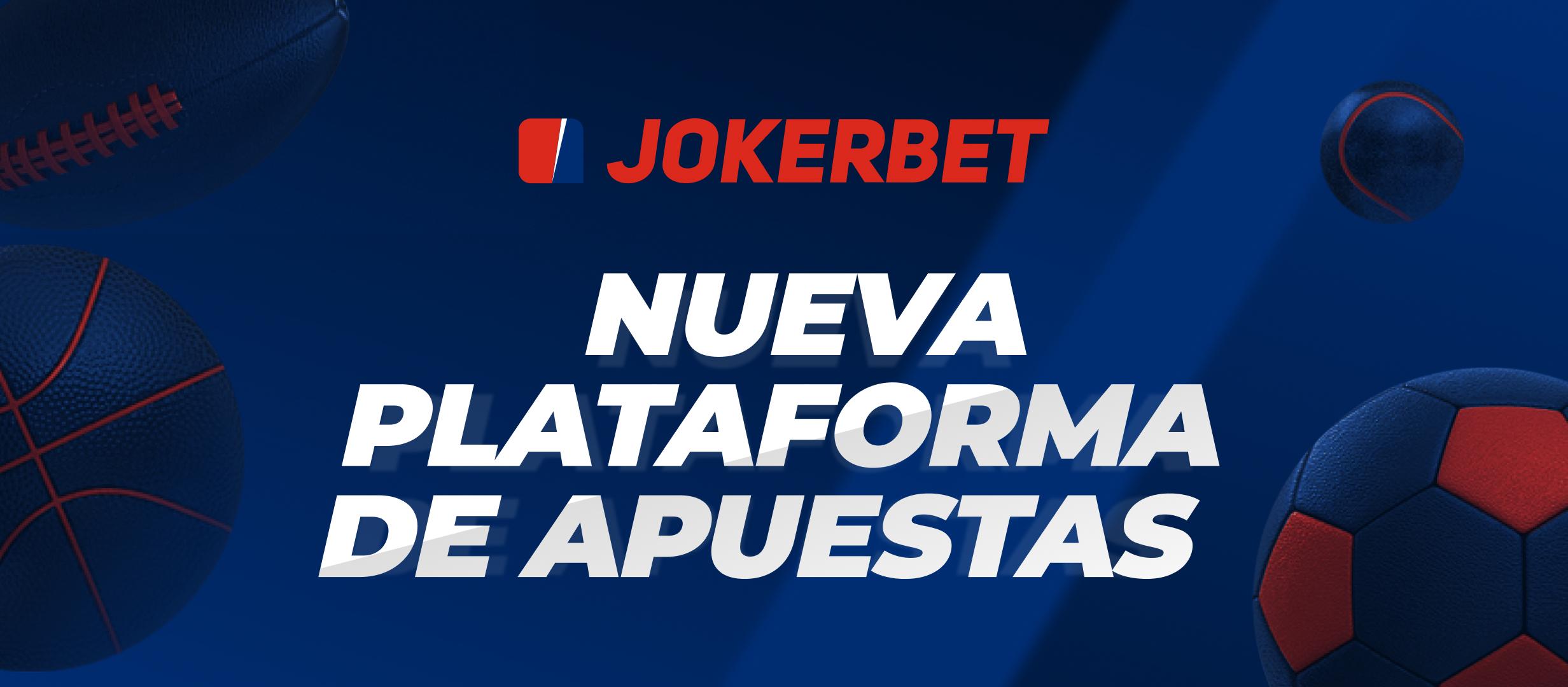 JOKERBET estrena plataforma de apuestas