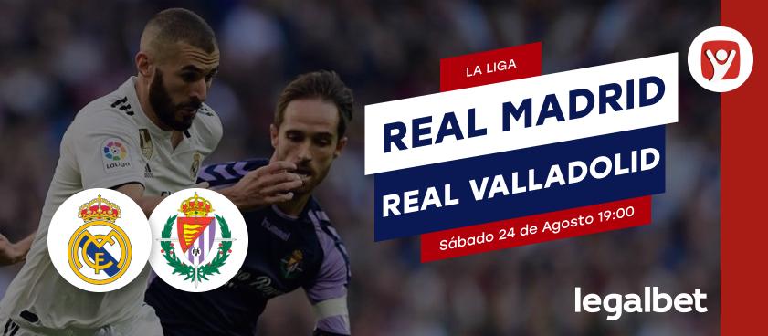 Previa Real Madrid - Real Valladolid, La Liga 2019