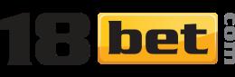 Логотип букмекерской конторы 18bet - legalbet.ru