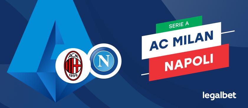 Apuestas y cuotas AC Milan - Napoli, Serie A 2020/21