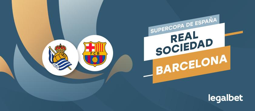 Apuestas y cuotas Real Sociedad - Barcelona, Supercopa de España 2020/21