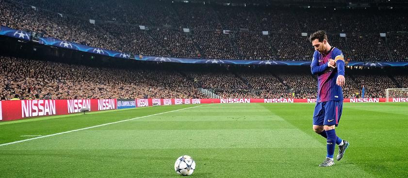 Leo Messi y el valor innato de la determinación