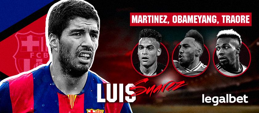 Sustituo de Luis Suárez. ¿A quién esperan las casas de apuestas en el FC Barcelona?