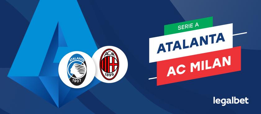 Apuestas y cuotas Atalanta - AC Milan, Serie A 2020/21