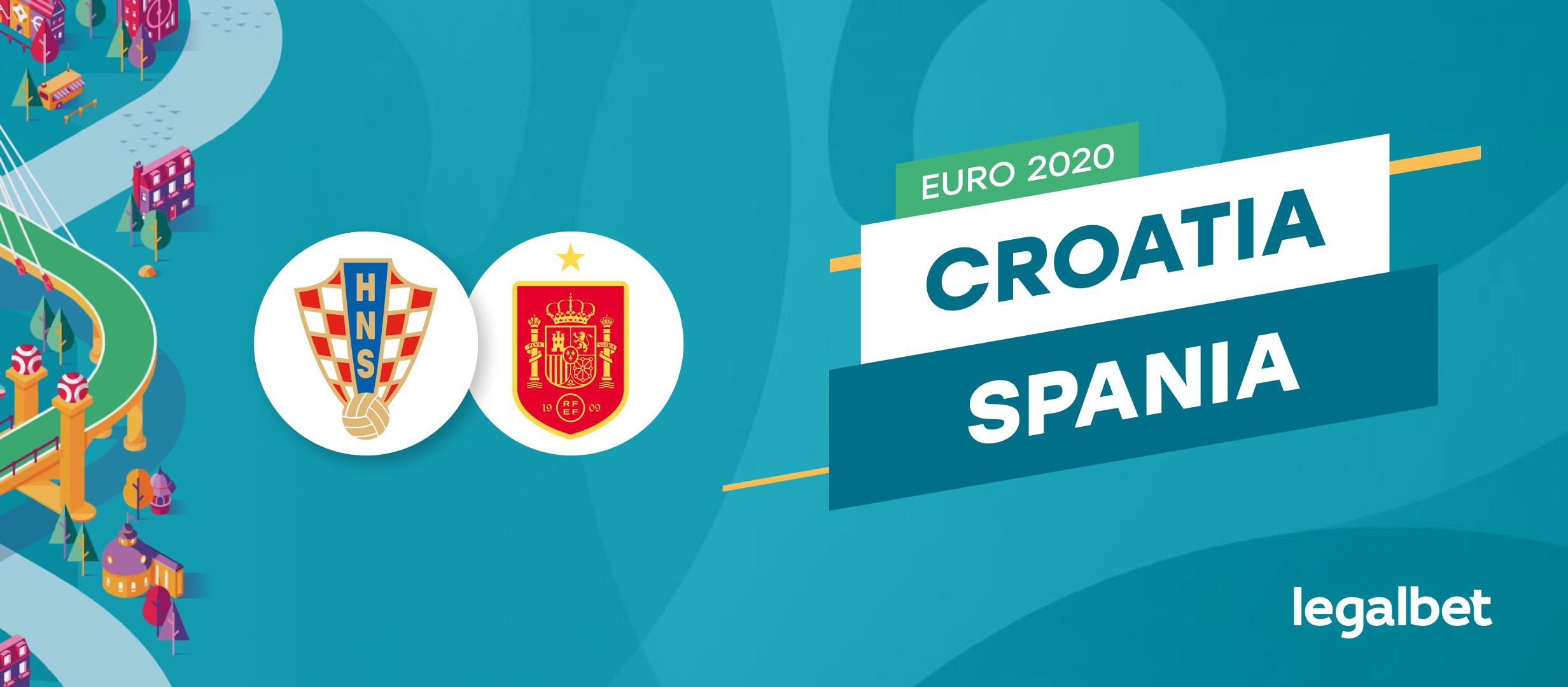 Croatia - Spania: cote la pariuri si statistici