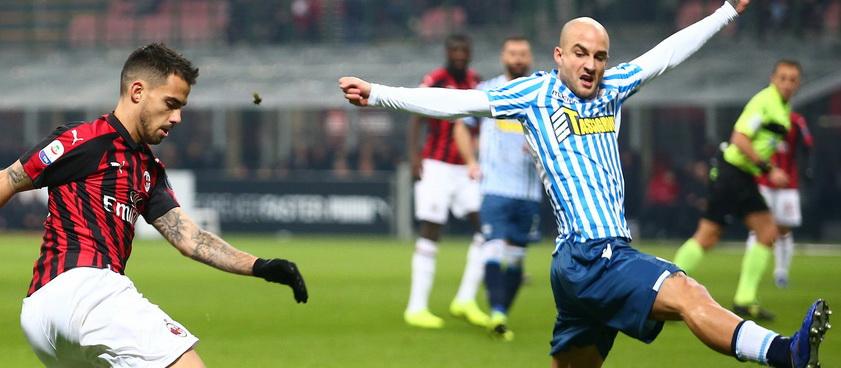 Spal - Milan. Ponturi pariuri Serie A