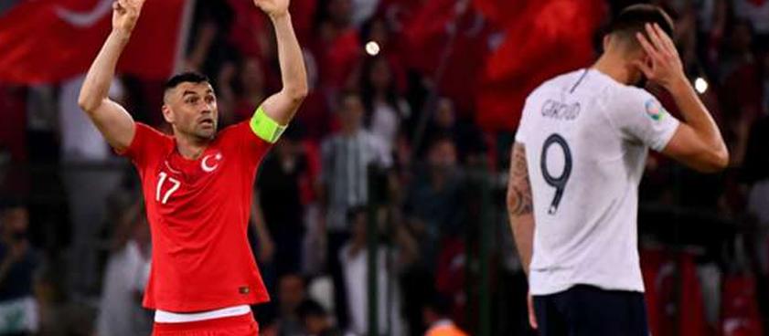 Франция — Турция: матч за лидерство в группе