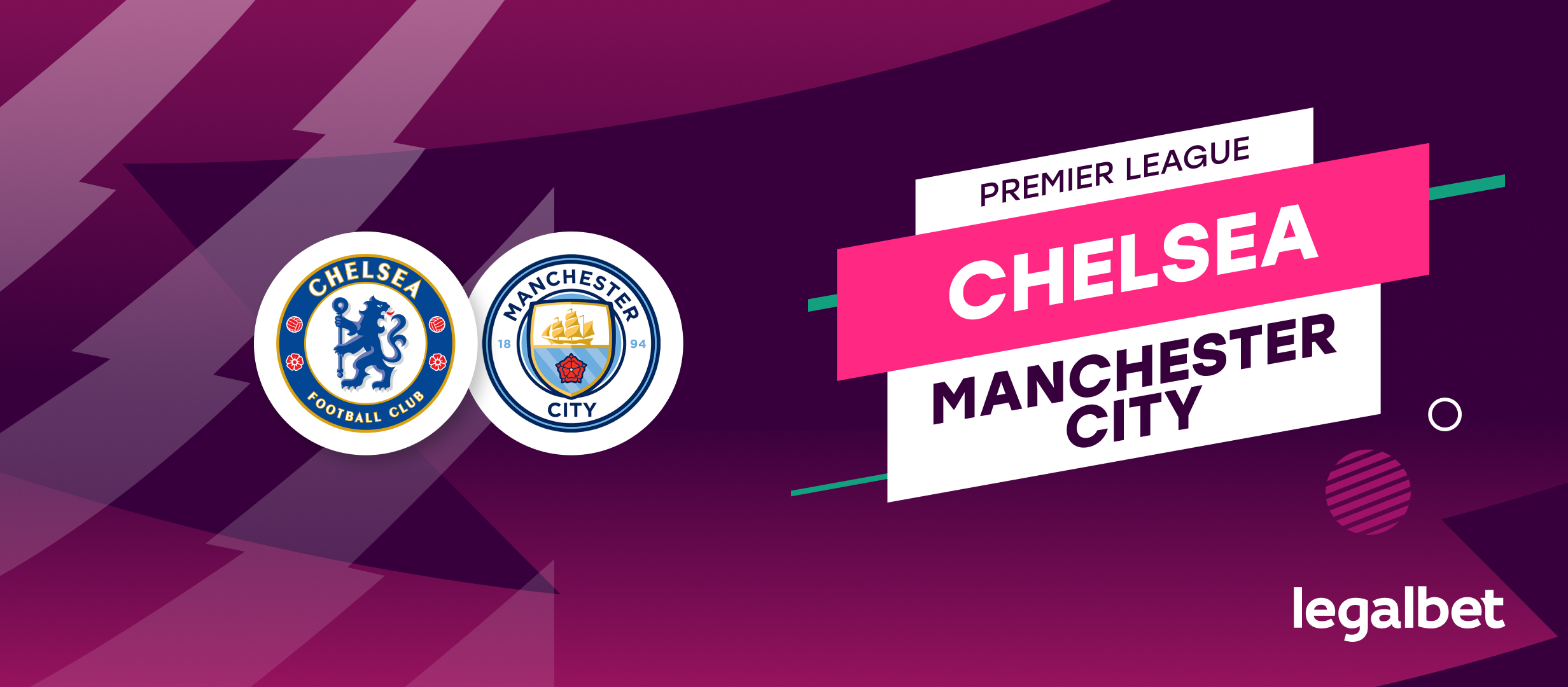 Apuestas y cuotas Chelsea - Manchester City, Premier League 2021/22
