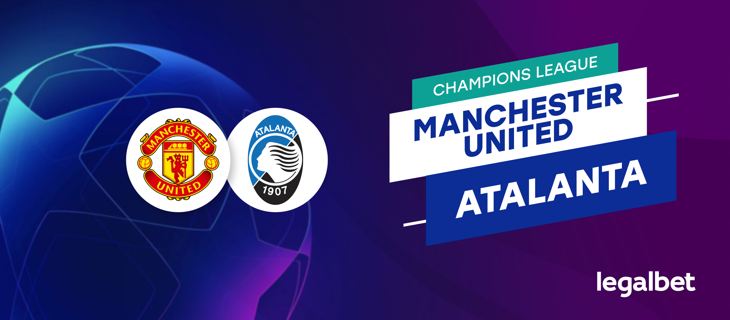 Apuestas y cuotas Manchester United - Atalanta, Champions League 2021/22