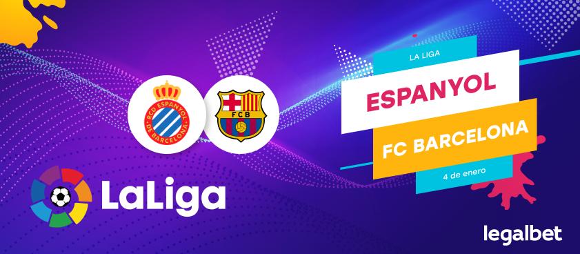 Previa, análisis y apuestas Espanyol - FC Barcelona, La Liga 2019