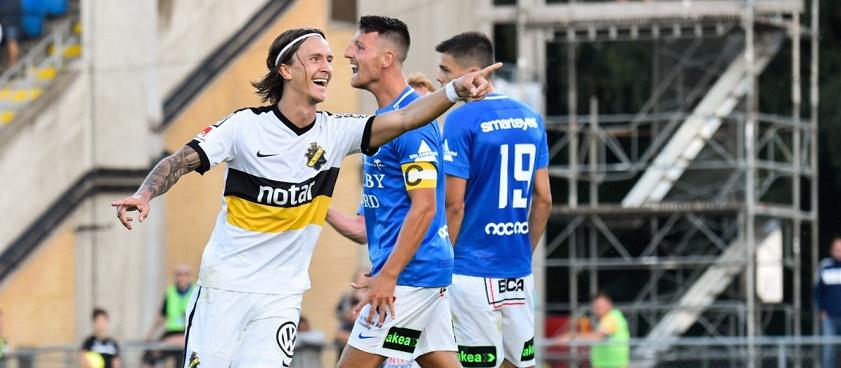 AIK Stockholm - Trelleborgs. Pontul lui IulianGGMU