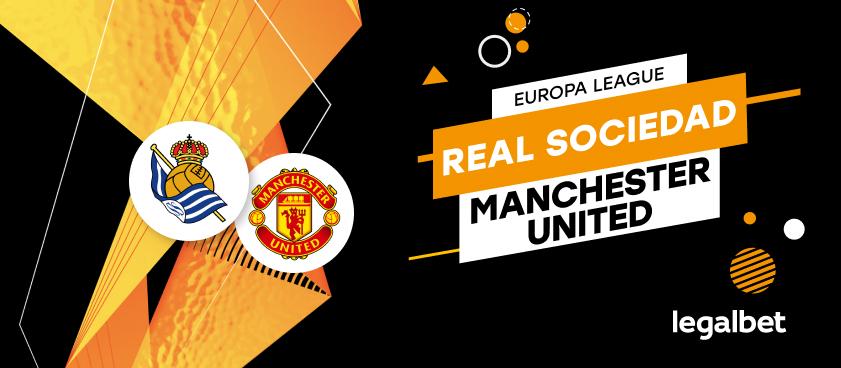 Apuestas y cuotas Real Sociedad - Manchester United, Europa League 2020/21