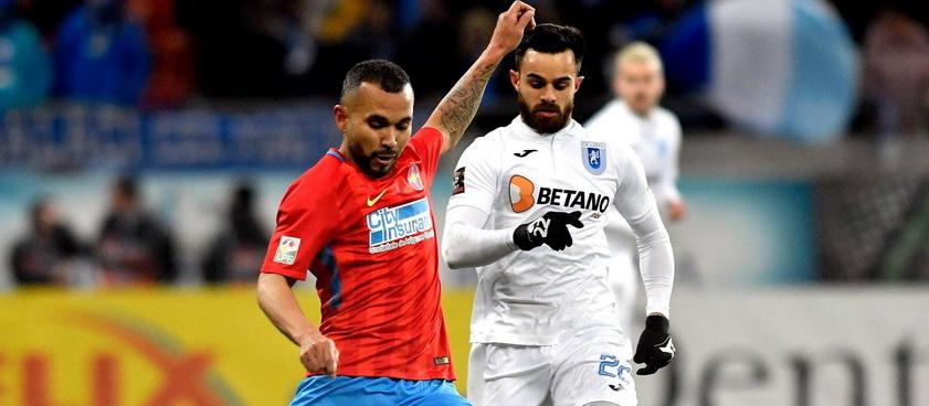 U Craiova - FCSB. Predictii sportive Liga 1 Betano