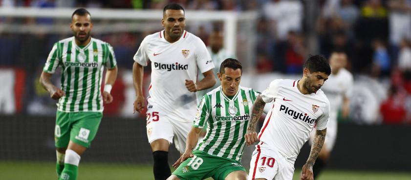 Previa, análisis y pronósticos Betis - Sevilla, La Liga 2019