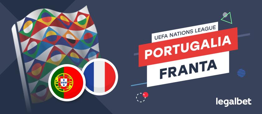Portugalia vs Franta – cote la pariuri, ponturi si informatii