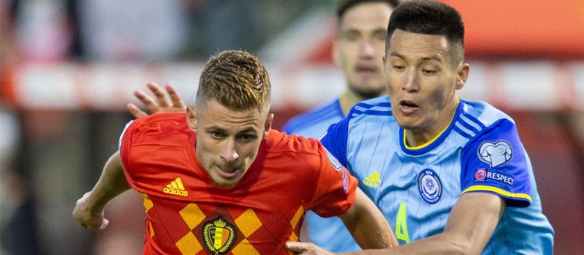 Прогноз на матч Казахстан – Бельгия: хозяева избегут погрома?