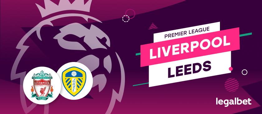 Apuestas y cuotas Liverpool - Leeds United, Premier League 2020