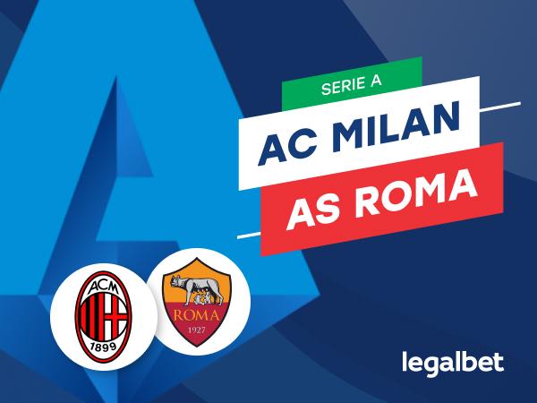 Mario Gago: Apuestas y cuotas AC Milan - Roma, Serie A 2020/21.