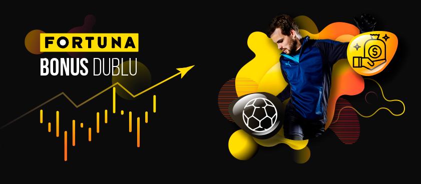 Bilet bonus dublu Fortuna 21-22.11.2020
