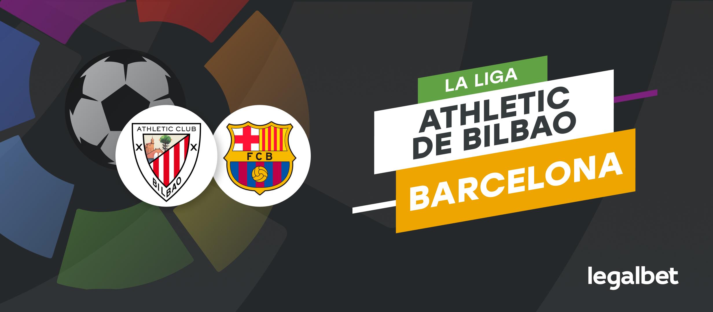 Apuestas y cuotas Athletic - Barcelona, La Liga 2021/22