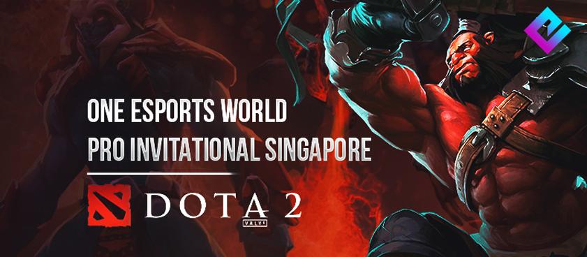 Ставки на первые матчи плей-офф ONE Esports Dota 2 World Pro Invitational Singapore