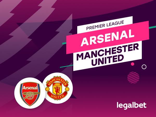 Antxon Pascual: Apuestas y cuotas Arsenal - Manchester United, Premier League 2020/21.