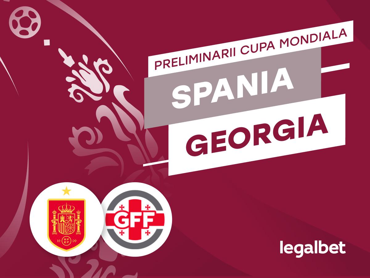 marcobirlan: Spania vs Georgia – cote la pariuri, ponturi si informatii.