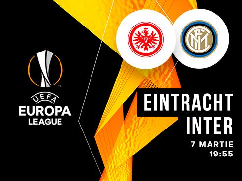 legalbet.ro: Eintracht Frankfurt - Internazionale Milano: prezentare cote la pariuri si statistici.