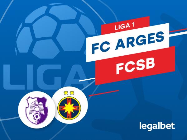 Karbacher: FC Argeş - FCSB: cote la pariuri şi statistici.