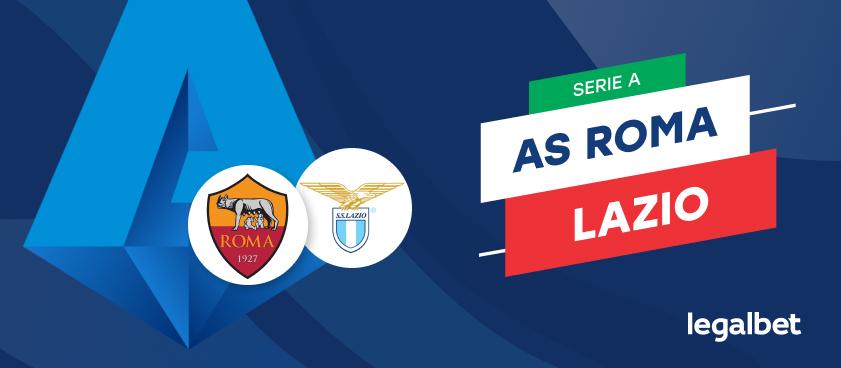 AS Roma  - SSC Lazio, cote la pariuri, ponturi şi informaţii