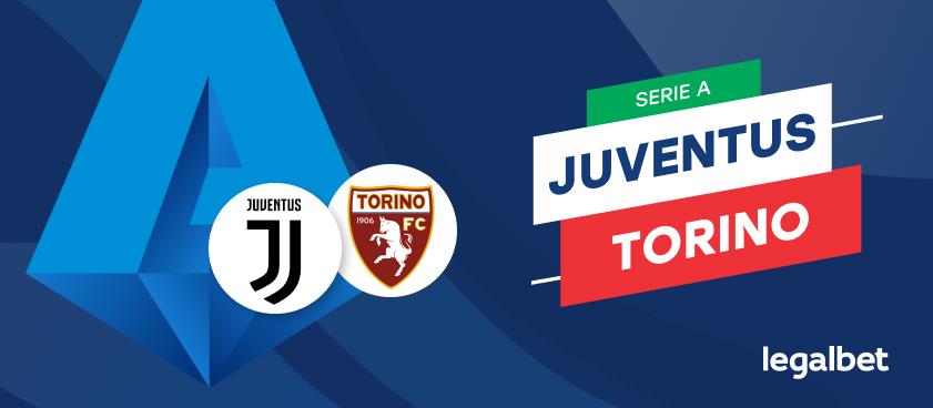 Apuestas y cuotas Juventus -Torino, Serie A 2020/21