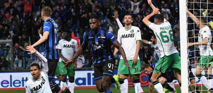 Sassuolo - Atalanta. Ponturi Pariuri Serie A